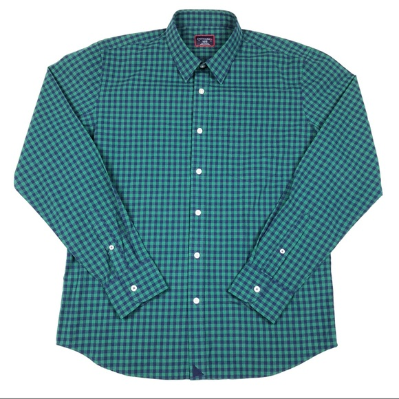 UNTUCKit Other - ❌SOLD❌ UNTUCKit Button Up Plaid Checkered Shirt